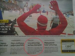 Aamulehti 2014: Uravalmentaja auttaa eteenpäin